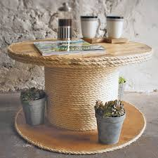 Cable Reel Table by Cable Drum Edge Coffee Table Furniture Do It Yourself