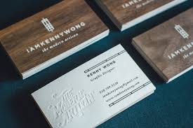 Cool Shaped Business Cards Wooden Business Cards Printed Wood That Looks Natural And Unique