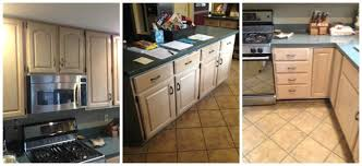 Old Kitchen Cabinet Makeover Kitchen Cabinet Makeover With Paint The Old Lucketts Store
