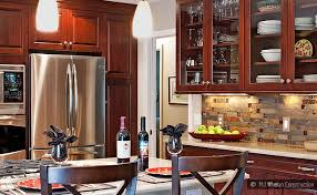 kitchen ideas cherry cabinets glass tile backsplash ideas for cherry cabinets interior design