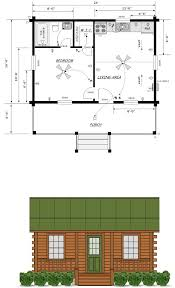 Mountain Cabin Floor Plans 16x24 House Plans Louisiana Cabin Co Finished Exterior 29