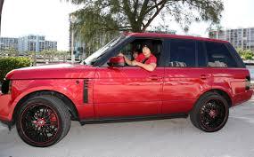 Austin Mahone Red Range Rover 14 Oceanup Teen Gossip