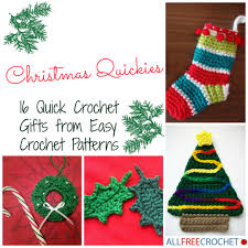 crochet christmas christmas quickies 16 crochet gifts from easy crochet
