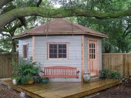 backyard shed corner shed corner cabana toronto backyard corner