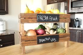 kitchen countertop storage ideas 10 diy fruit storage ideas for better kitchen organization