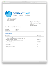 Pages Invoice Templates Download Apple Pages Invoice Template Rabitah Net