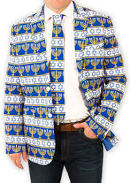 hanukkah tie men s chanukah menorah suit coat and tie festified