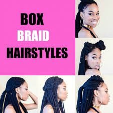 hairstyles for box braids 2015 5 simple box braid hairstyles that turn heads voice of hair