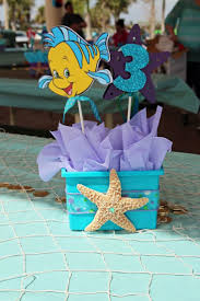 birthday party decorations ideas at home top little mermaid birthday party decoration ideas images home