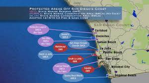 Map Of Carlsbad Ca Underwater Preserves Ok U0027d Off San Diego U0027s Coast Kpbs