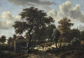 Washington the travelers images Meindert hobbema the travelers ca 1662 artsy jpg