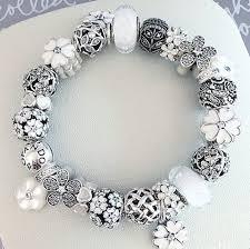 white charm bracelet images 366 best pandora white bracelets images pandora jpg
