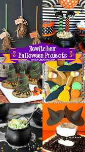 Halloween Crafts For Classroom Party by Witch Halloween Projects Oh My Creative