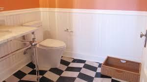 wainscot your bathrooms oh yeah windsorone