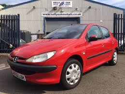 peugeot c used peugeot 206 hatchback 1 4 look 5dr a c in birmingham west
