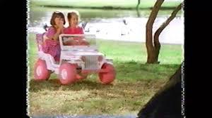 barbie jeep power wheels 90s barbie power wheels commercial 1996 youtube