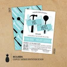 Couple Shower Ideas Customizable Around The House Shower Invitation Parties