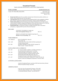 luxury idea occupational therapy resume an essay on environmental