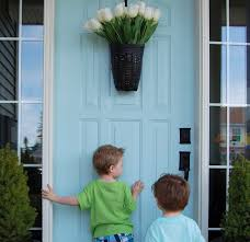 Paint A Front Door by How To Paint A Door In Under An Hour The Harried Mom U0027s Guide To