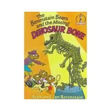 berenstien bears berenstain bears and the missing dinosaur bone hardcover stan