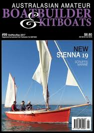 Australian Woodworking Magazine Subscription by Australian Amateur Boat Builder Magazine Oct Nov Dec 2017