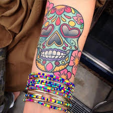 best 25 sugar skull tattoos ideas on pinterest arm tattoos day