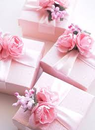 jewelry party favors wedding favors blush pink ivory fuchsia ring jewelry box baby