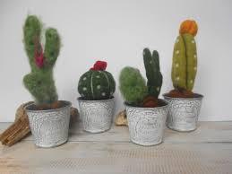 cactus home decor cactus decoration needle felted cactus small cactus decoration