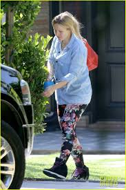 Kristen Bell House by Kristen Bell Steps Out For First Time Since Giving Birth Photo
