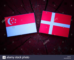 Denmark Flag Color Meaning Singaporean Flag Stock Photos U0026 Singaporean Flag Stock Images Alamy