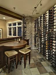 Wine Tasting Table Wine Tasting Table Cellar Transitional With Rustic Swivel