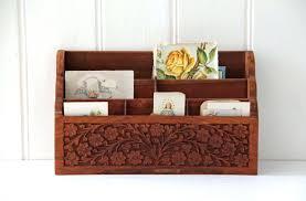wood desk organizer u2013 binteo me