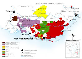 Italy Wine Regions Map by Essential Guide To Provence Wine Region With Maps Wine Folly