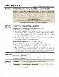 sample resume for entry level system administrator marketing