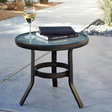 furniture cool coral coast 20 in patio side table popular powder
