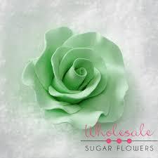 mint green flowers 2 formal mint green 18 per box wholesale sugar flowers