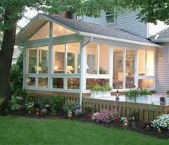 Adding Sunroom Adding A Window Filled Sun Room Is A Great Way To Transition From