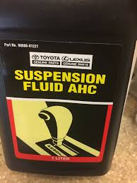 toyota and lexus transmission fluid replacement ahc fluid out of stock nationally any ideas where else to get
