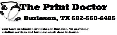 Business Cards Next Day Delivery Prescription The Print Doctor Burleson Tx