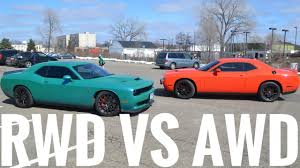 2017 awd dodge challenger an awd challenger review from a
