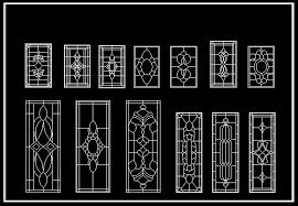 european classical elements blocks cad drawings download cad