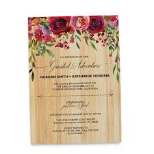 wedding reception invitation rustic elopement wedding reception invitation cards bbq casual