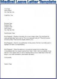 application letter for medical treatment