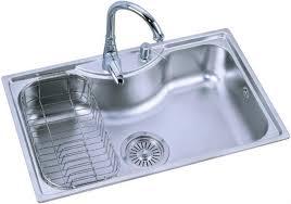 topmount single bowl commercial kitchen sinks of bk8501 view