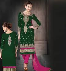 velvet salwar kameez designs 2015 latest pattern womens suits