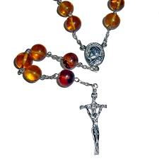 s tears rosary center rosary with sterling silver