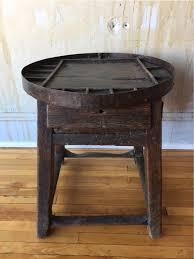 circa 1900 fabulous tuscan shoe cobbler side table omero home