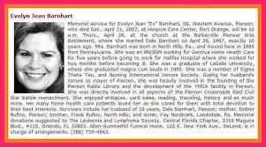 newspaper obituary examples bio letter format