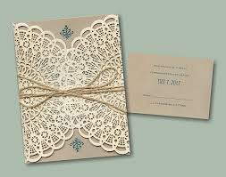 lace invitations lace wedding invitations with beautiful design registaz