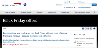 black friday airways american airlines business class
